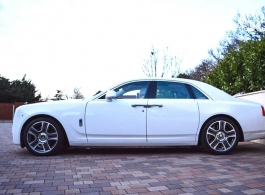 Rolls Royce Ghost for London weddings